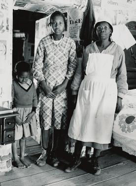 Lucy P. Pettway with sister Bertha and grandmother Lucy Mooney