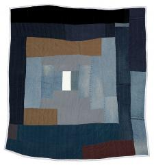 "Loretta_Pettway_""Bricklayer""_variation_work_clothes_quilt_2003"