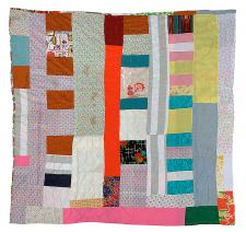 Two-sided quilt: Blocks and bars