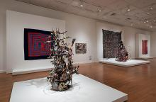 Installation View of: Cosmologies from the Tree of Life: Art from the African American South. Photo: David Stover © Virginia Museum of Fine Arts.
