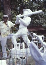 Eldren M. Bailey, Monument to Henry Aaron's 715th home run, 1974