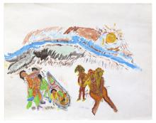 Luster Willis, Tribal People, 1986