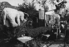Nellie Mae Rowe's yard