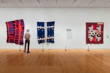Installation view of Souls Grown Deep: Artists of the African American South (Photo: Juan Arce, 2019, courtesy of the Philadelphia Museum of Art)