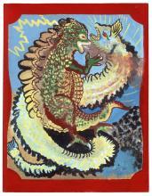 Royal Robertson, Fire Dangon Fighting Giant Electric Ell, 1980